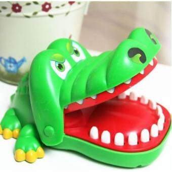 Harga Crocodile Mouth Dentist Bite Finger Game Funny Play Kids GiftEducation Toy