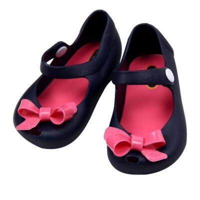 Sell cute girls baby kids detailed jelly bowknot fish for Shoes with fish in them