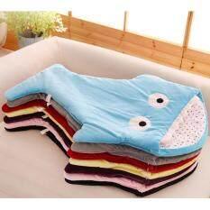 Cute Shark Blanket Swaddling Sacks Baby Sleeping Bag Black