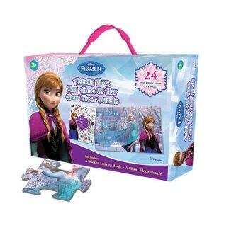 Harga Disney Frozen: Anna Activity Time with Her Giant Floor Puzzle BoxSet