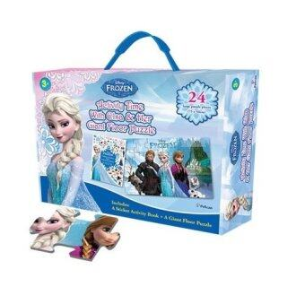 Harga Disney Frozen Box Set: Activity Time with Elsa and Her Giant FloorPuzzle