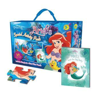 Harga Disney Princess: Ariel's Special Activity Pack with Giant Puzzleand Storybook