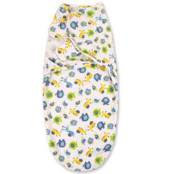 Harga DK18 Newborn Baby Swaddling Sleep Bag Organic Cotton InfantParisarc