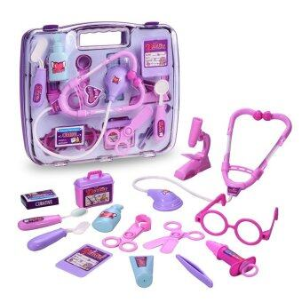 Doctor Toys for Kids Pink & Purple - 3