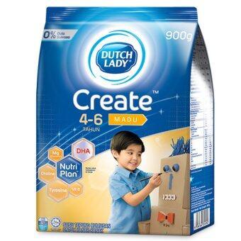 Dutch Lady Create (4-6 Years) 900g Honey (3 packs)