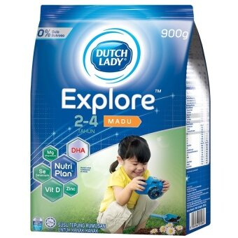 Dutch Lady Explore(TM) 2-4 Honey 900g