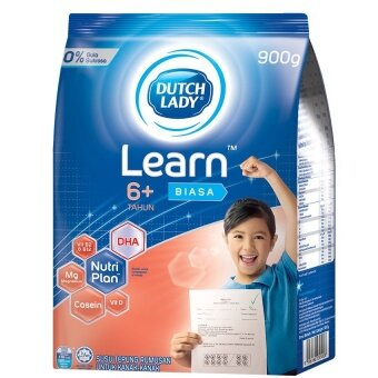 Dutch Lady Learn(TM) 6+ Plain 900g