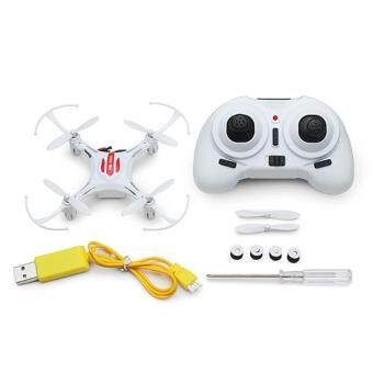 Harga Eachine H8 Mini Headless Mode 2.4G 4CH 6 Axis RC Drone QuadcopterRTF Mode 1 White-Intl