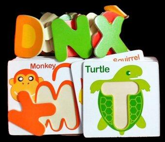 Harga Early Education ABC Learning Card and matching letters