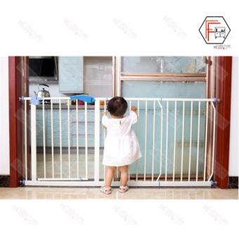 F&F: Baby Safe Auto Lock Security Gate and Extension
