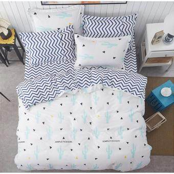 Harga F&F: Modern Fitted Queen Size Bed Sheet Set