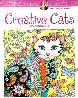 Harga Fantastic Flower Creative Haven Cats Colouring Book For Adults Antistress Coloring Secret Garden