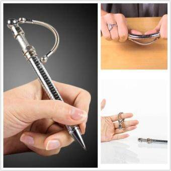 Harga Finger Fidget Pen Toy Think Ink Pen Magnetic Metal Roller Ball PenStress Relief