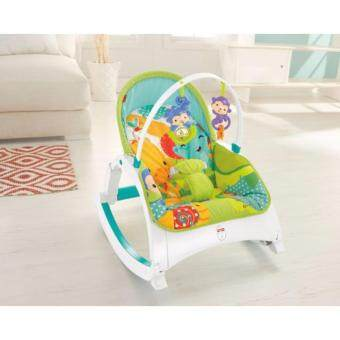 Fisher-Price(R) Rainforest Friends Newborn-to-Toddler Portable Rocker - 3