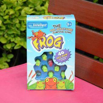 Frog children's logic intellectual game checkers maze