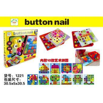 Harga Genius Creative Button Nail Art