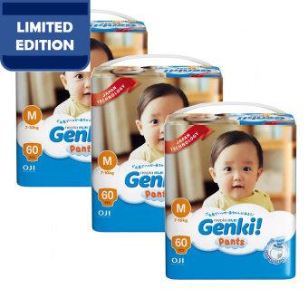 Genki! Pants Mega M60 (3 packs)