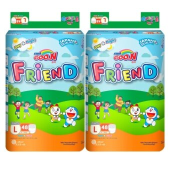Harga Goo.N Friend Pants Super Jumbo L Size 48pcs x2 Pack