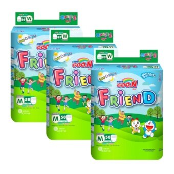 Harga Goo.N Friend Pants Super Jumbo M Size 58pcs x3 Pack