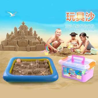 Harga Grade A Kinetic Sand Beach Castle Building Play Set