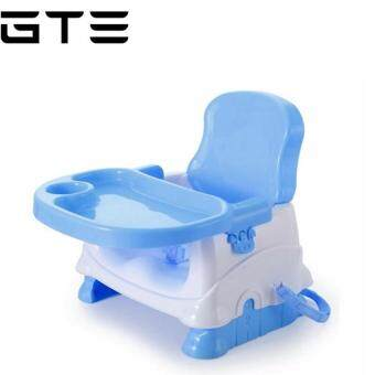 Gte Baby Booster Seat Portable Baby Dining Chair And Table Light Blue