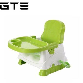 GTE Baby Booster Seat / Portable Baby Dining Chair And Table   Light Green