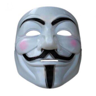 Harga Halloween Cos-play Cool Vendetta Anonymous Movie Mask