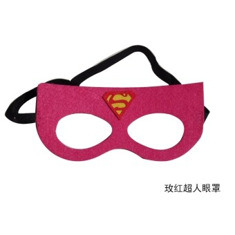 Halloween mask children's Superman goggles Spider Man Iron ManAmerican captain goggles mask children adult