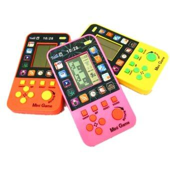 Harga Handheld Built-in 23 Games Classic Intellectual Console Toy BrickGames Retro Tetris Game Console for Kids