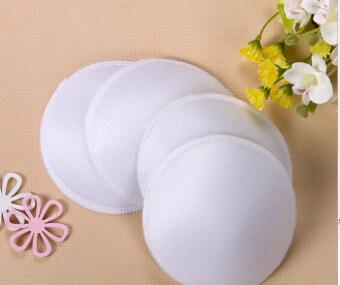 Hanyu Anti-overflow Breast Pads Maternity Nursing Bra WashableMammy Breast Pads White - 3