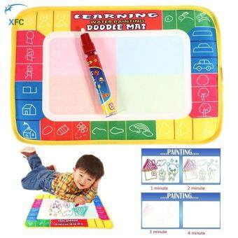Harga Hot Sale New Magic Water Drawing Painting Writing Board Mat MagicPen Doodle Aquadoodle Mat For Baby Kid Children Toys Gift