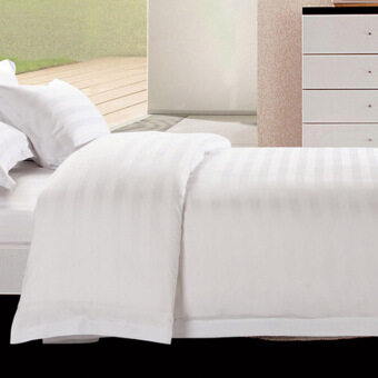 Hotel bed supplies cotton white home quilt