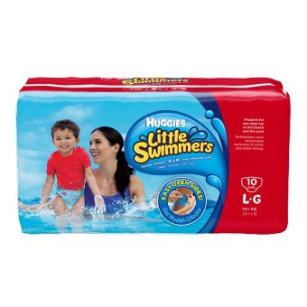 Harga Huggies Little Swimmers L10 x 1 pack
