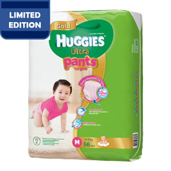 Huggies Ultra Pants Girl M56 x 1 Super Jumbo pack
