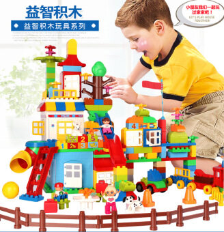 Hui mei 210 hm182 puzzle assembled building blocks toys