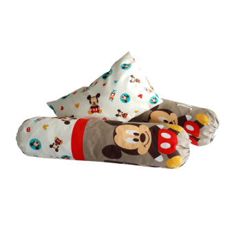 Harga Disney Baby 3pcs Pillow & Bolster - Mickey