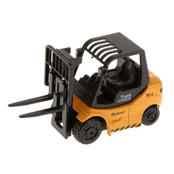 Harga BolehDeals 1:64 Diecast Forklift Truck Model Construction Vehicle Car Kids Toys (Intl)