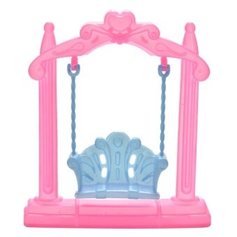 Harga Swing For Dolls Kids Toy Plastic Doll Accessories Doll's Backyard Furniture