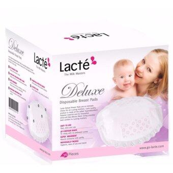 Harga Lacte Deluxe Disposable Breast Pads White (3 Boxes)