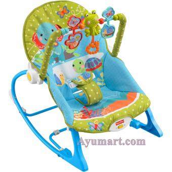 Harga Infant-to-Toddler Rocker ( Blue )