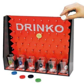 Harga Drinko Adult Shot Drinking Game With 6 Shot Glasses For 6 Players