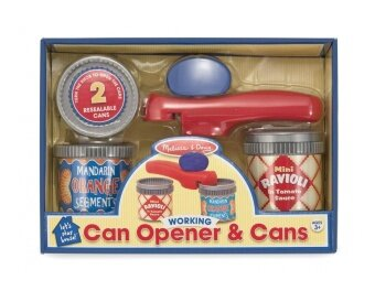 Harga Melissa & Doug Let's Play House! Can Opener and Cans