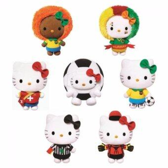 Harga 2014 Hong Kong Original McDonald´s Limited Edition FIFA World Cup Hello Kitty Plush Toys