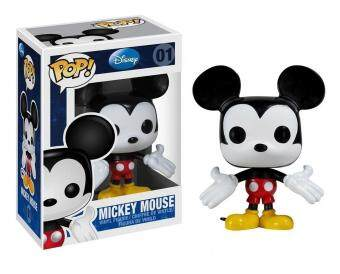 Harga Disney POP! 7.6cm Vinyl Figure Mickey Mouse, Standard, Black