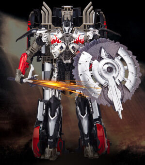 Harga Transformer Dark Black Optimus Prime Alloy Limited Collection Edition Leader Series Oversized Robot Toys