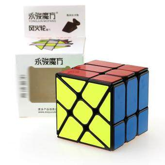 Harga Yongjun YJ Magic Cube 3x3x3 Profiled Classic Speed Magic Puzzle Cube Hot Wheel Square King Rubix Cube Learning Kids Toys
