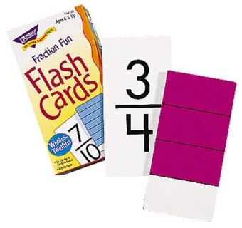 Harga Fraction Fun Flash Cards