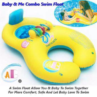 Harga Baby & Me Combo Swim Float - Yellow