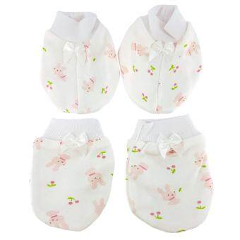 Harga Jardin Bebe Girl Mitten Booties Set [164-1133-031]