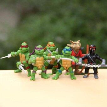 Harga 6Pcs Teenage Mutant Ninja Turtles Action Figures Toy